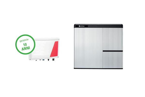 Solar Edge/LG ChemINTERFACCIA Per ACCUMULO Batteria