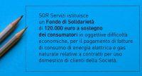 SGR Servizi Istituisce Un Fondo Di Solidarietà – 19/03/2019